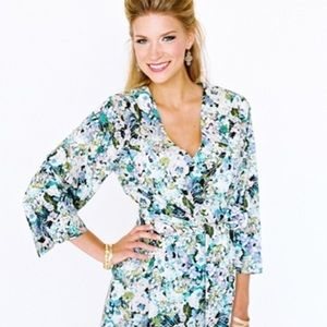 🌻 Plum Pretty Sugar Wrap, kimono style robe NWOT